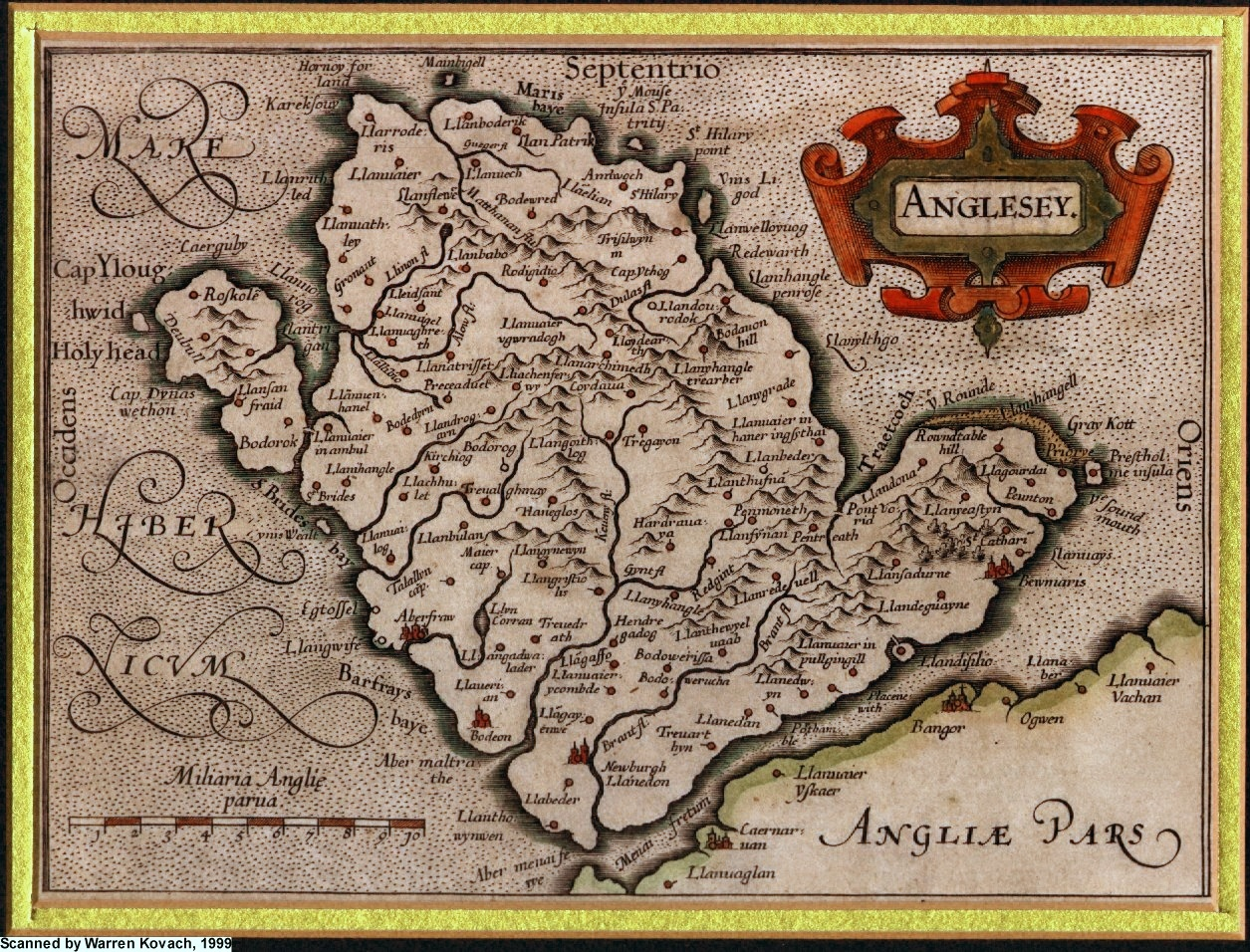 Anglesey Maps